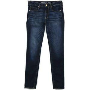 American Eagle Skinny Jeans Super Stretch 6 Long